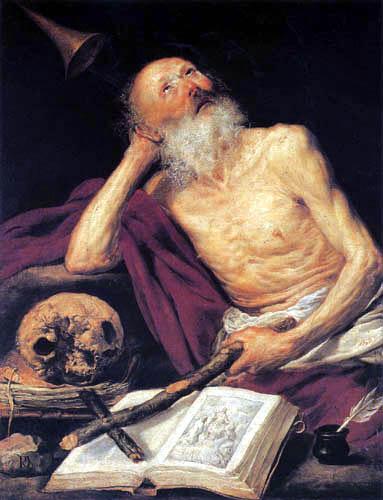 Antonio de Pereda y Salgado - Saint Jérôme