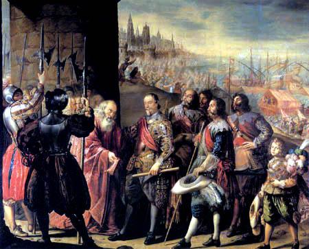 Antonio de Pereda y Salgado - Le soulagement de Gênes