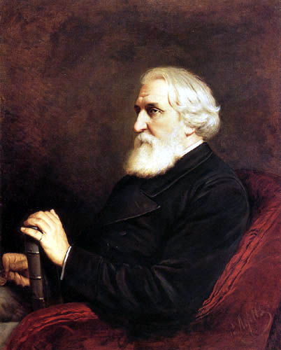 Wassili Perow - The Writer Ivan Turgenev