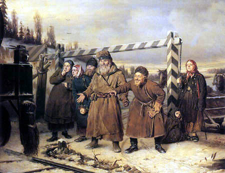 Wassili Perow - At the railway