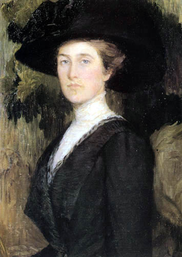Lilla Cabot Perry - Portrait of Mrs. H. Lyman