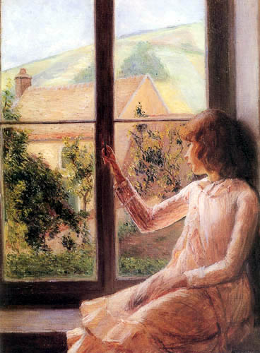 Lilla Cabot Perry - Edith Perry en la ventana