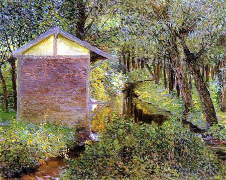 Lilla Cabot Perry - Jardín de Monet
