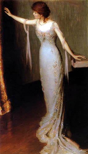 Lilla Cabot Perry - Señora con vestido de noche