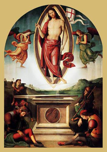 Perugino (Pietro di Cristoforo Vannucci) - The Resurrection