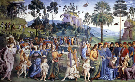 Perugino (Pietro di Cristoforo Vannucci) - From the life of Moses