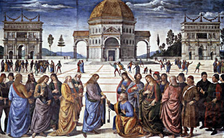 Perugino (Pietro di Cristoforo Vannucci) - From the life of Christ