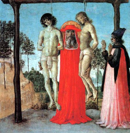 Perugino (Pietro di Cristoforo Vannucci) - Saint Jerome