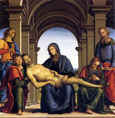 Perugino (Pietro di Cristoforo Vannucci) - Piety
