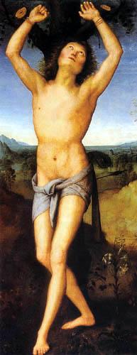Perugino (Pietro di Cristoforo Vannucci) - St. Sebastian