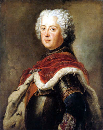 Antoine Pesne - Frederic the Great