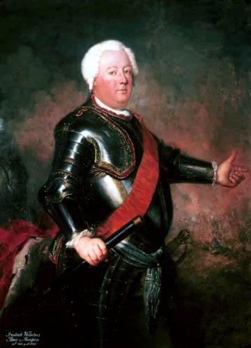 Antoine Pesne - Friedrich Wilhelm I., König von Preussen