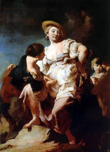 Giovanni Battista Piazzetta - Die Wahrsagerin