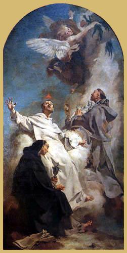 Giovanni Battista Piazzetta - Die Heiligen