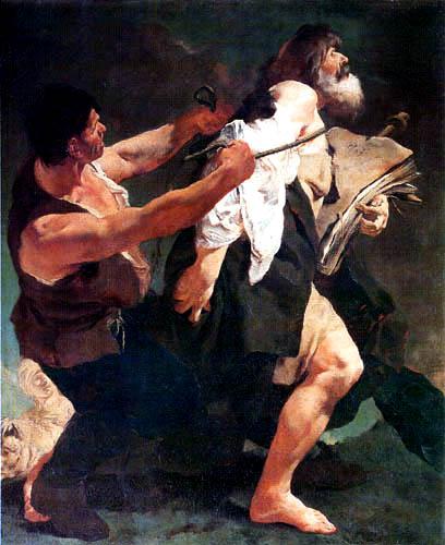 Giovanni Battista Piazzetta - Santiago wird zum Martyrium geführt
