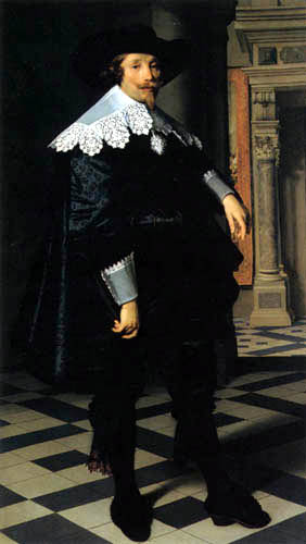 Nicolaes Eliasz Pickenoy - Cornelius de Graeff, Mayor of Amsterdam
