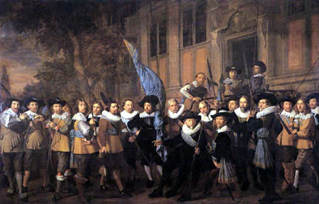 Nicolaes Eliasz Pickenoy - The company of captain Jan Claesz, Vlooswijck