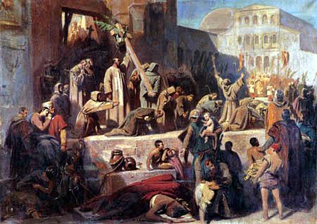 Karl T. von Piloty - The Capture of Jerusalem