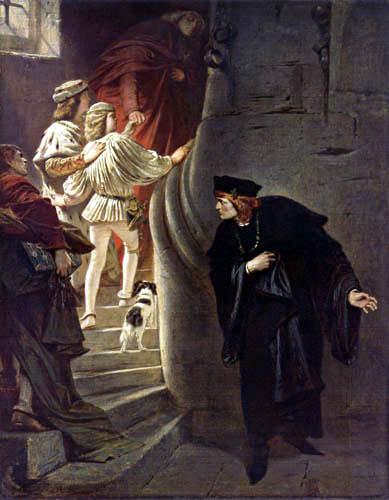 Karl T. von Piloty - The capture of the children of Edward IV.