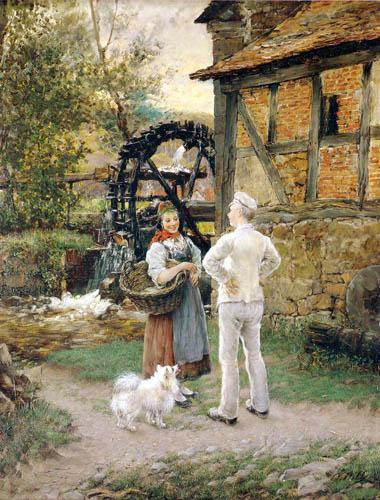Otto Piltz - Bei der Cappeler Mühle