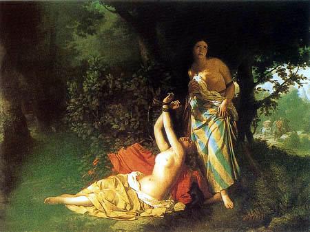 Ignacio Pinazo Camarlench - The daughters of Cid