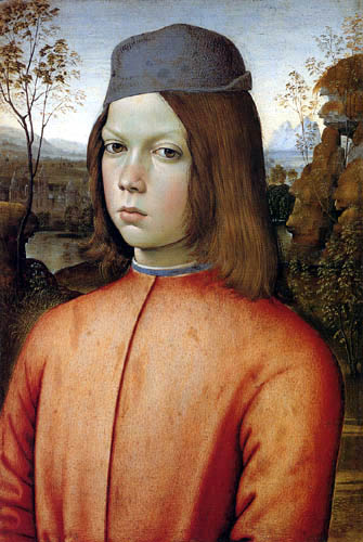Pinturicchio (Bernardino di Betto) - Portrait of a boy
