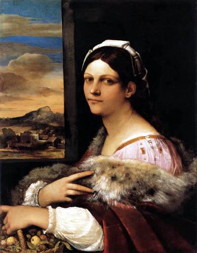 Sebastiano del Piombo - A young Roman