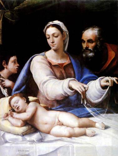 Sebastiano del Piombo - Madonna mit Schleier