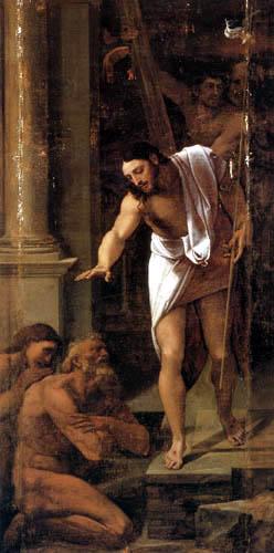 Sebastiano del Piombo - Der Abschied von Christus in den Limbus