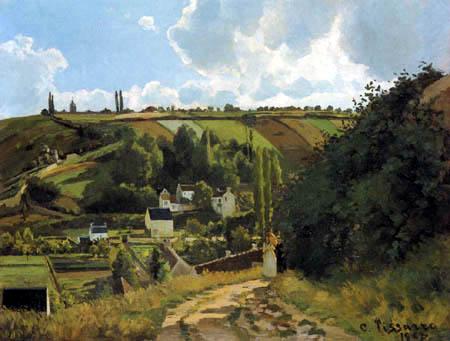 Camille Pissarro - Côte du Jallais, Pontoise