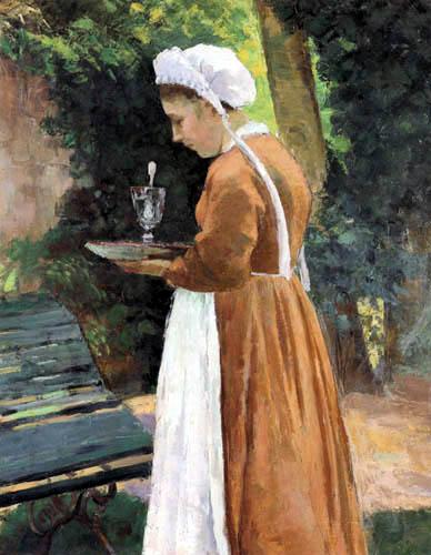 Camille Pissarro - The maid