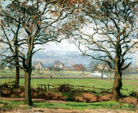 Camille Pissarro - Nahe Sydenham Hill