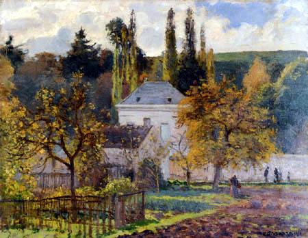 Camille Pissarro - Bürgerliches Haus in L´Hermitage, Pontoise