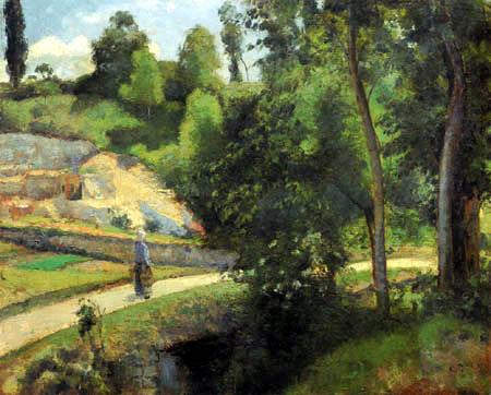 Camille Pissarro - The Quarry of Pontoise