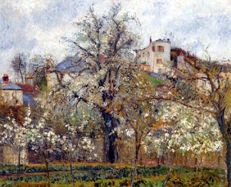 Camille Pissarro - Spring, Pontoise