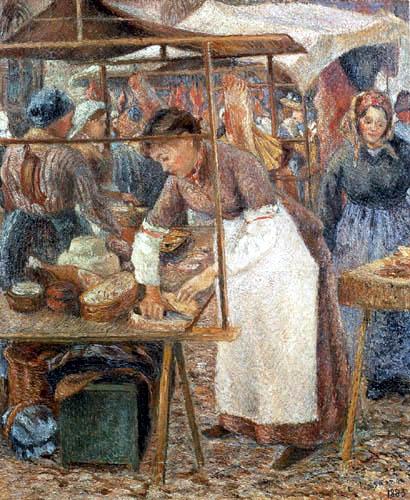 Camille Pissarro - Meat market