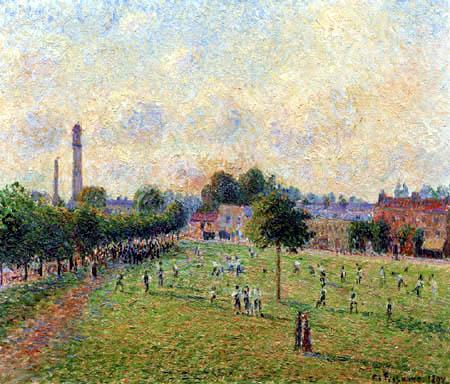 Camille Pissarro - Kew Green, London
