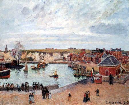 Camille Pissarro - Havre de Dieppe