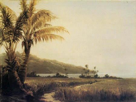 Camille Pissarro - Tropical landscape, St. Thomas, Antilles