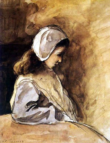 Camille Pissarro - Jeanne Rachel Pissaro