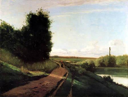 Camille Pissarro - The Towpath
