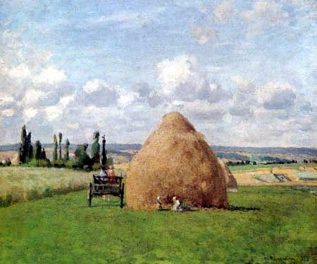 Camille Pissarro - Haystack at Pontoise