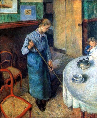 Camille Pissarro - Die kleine Magd