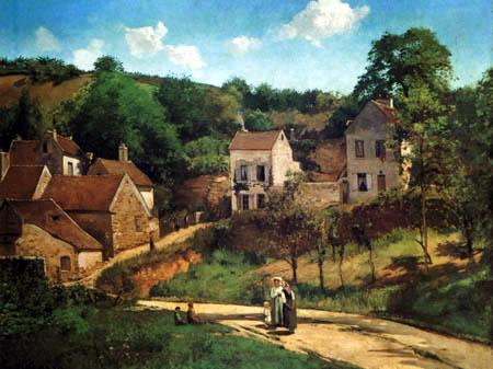 Camille Pissarro - Die Hügel der Hermitage