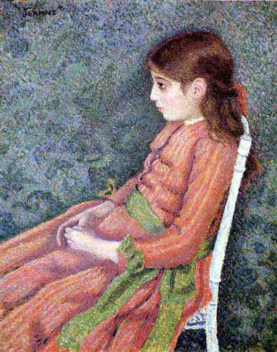 Lucien Pissarro - Jeanne