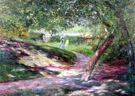Wladislaw Podkowiński - Im Garten