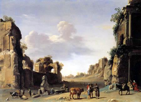 Cornelis van Poelenburgh - Campo Vaccino