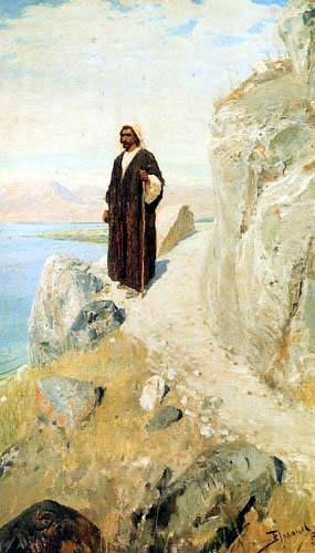 Wassili Dmitrijewitsch Polenow - Christ return after Galilea