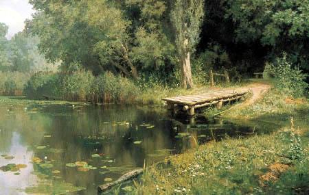 Wassili Dmitrijewitsch Polenow - Zugewachsener Teich