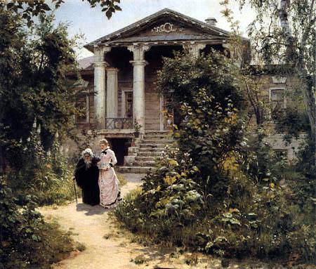 Wassili Dmitrijewitsch Polenow - Jardin de grand-mère